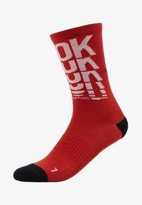 Reebok - TECH STYLE CREW SOCK - Sportovní ponožky - legacy red - 1