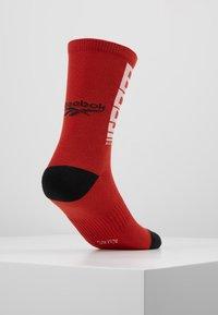 Reebok - TECH STYLE CREW SOCK - Sportovní ponožky - legacy red - 3