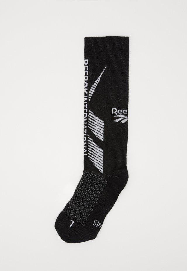TECH STYLE CREW SOCK - Sportovní ponožky - black
