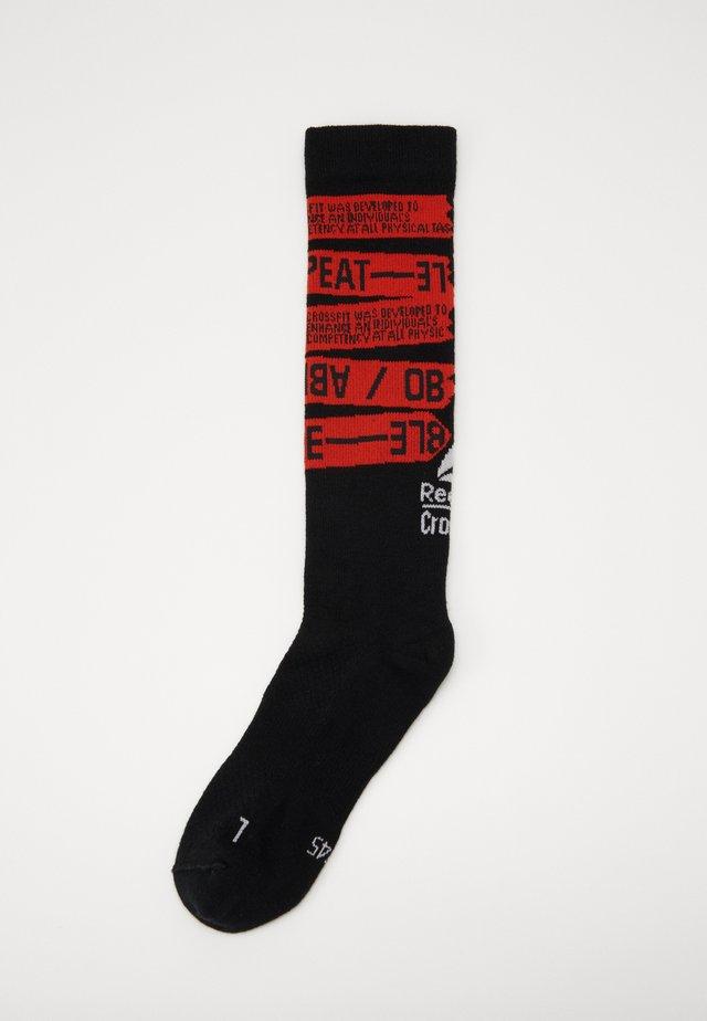 CREW - Sportovní ponožky - black