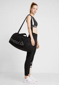 Reebok - ACT CORE GRIP - Sports bag - black/medium grey - 5