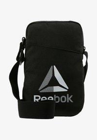 Reebok - CITY BAG - Schoudertas - black - 6