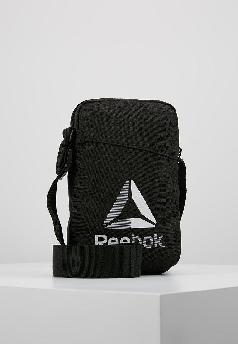 Reebok - CITY BAG - Bandolera - black
