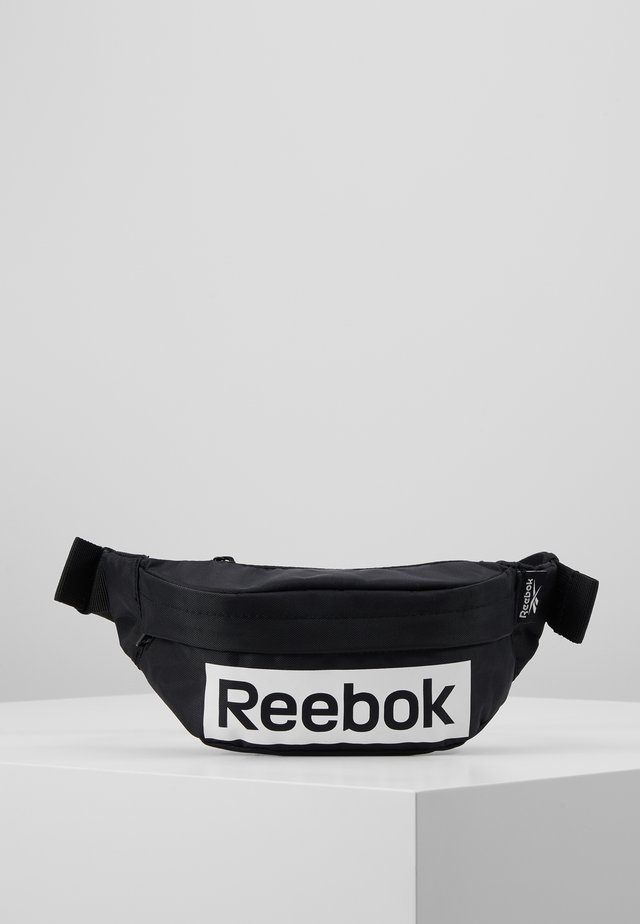 LINEAR LOGO WAISTBAG - Bältesväska - black