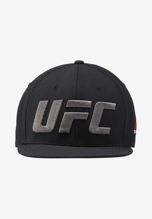 UFC FIGHT NIGHT FLAT PEAK CAP - Czapka z daszkiem - black