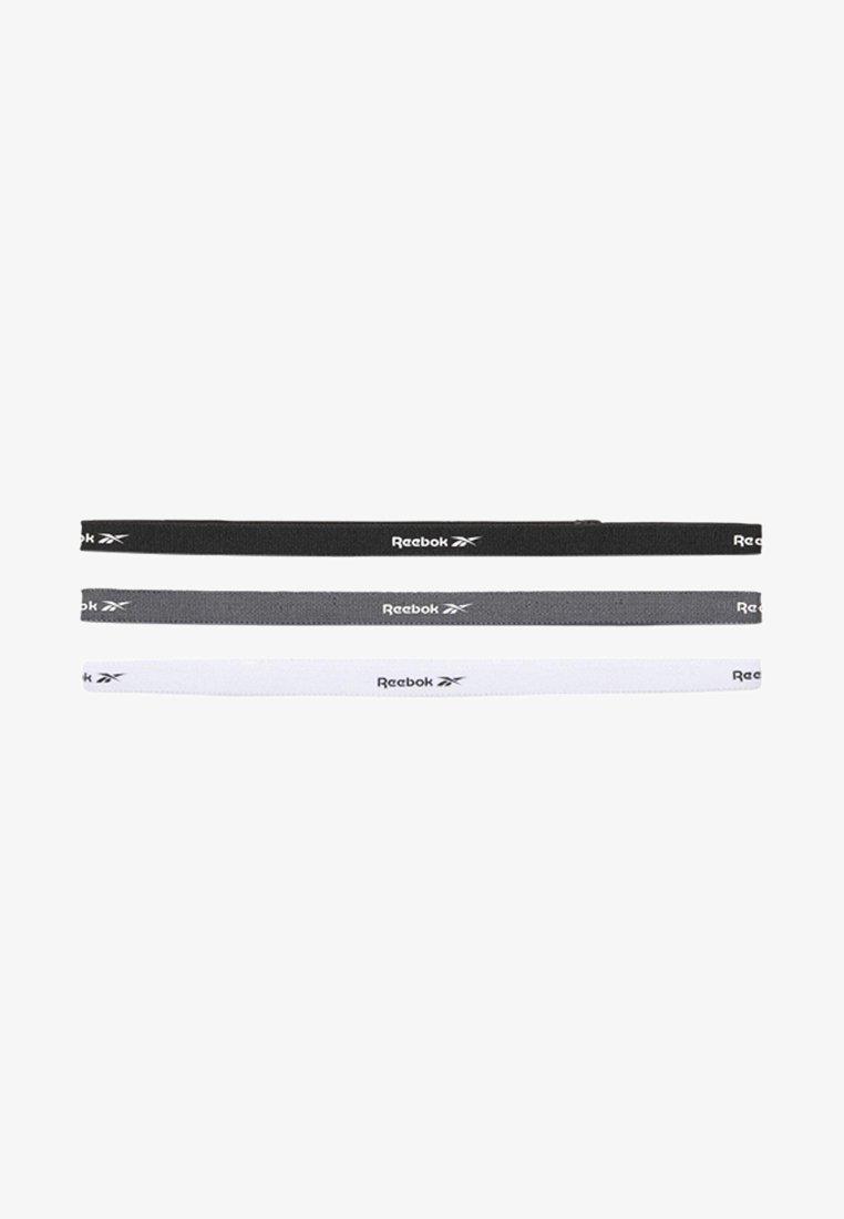 Reebok - ONE SERIES TRAINING HEADBANDS 3 PACK - Headscarf - black