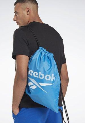 TRAINING ESSENTIALS GYM SACK - Drawstring sports bag - blue