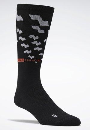 2019-12-01 ONE SERIES TRAINING CREW SOCKS - Sportsocken - black