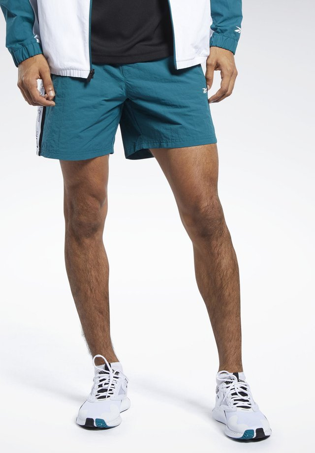 MEET YOU THERE SHORTS - Korte sportsbukser - heritage teal