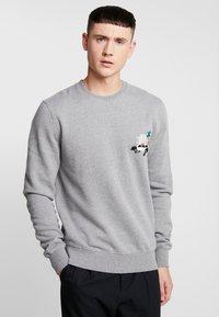 RVLT - POL - Sweatshirt - grey-mel - 0