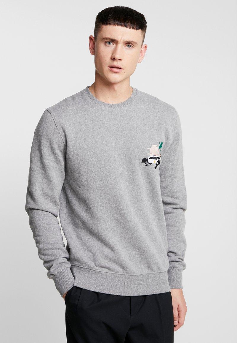 RVLT - POL - Sweatshirt - grey-mel