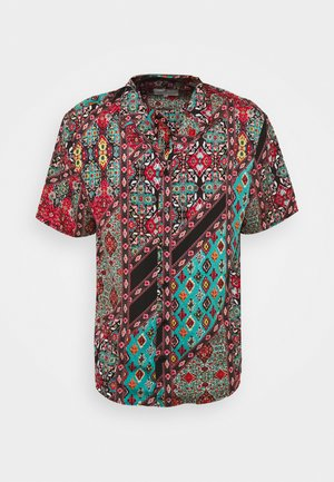 SHORT SLEEVE SHIRT WITH ALL OVER - Camicia - multi