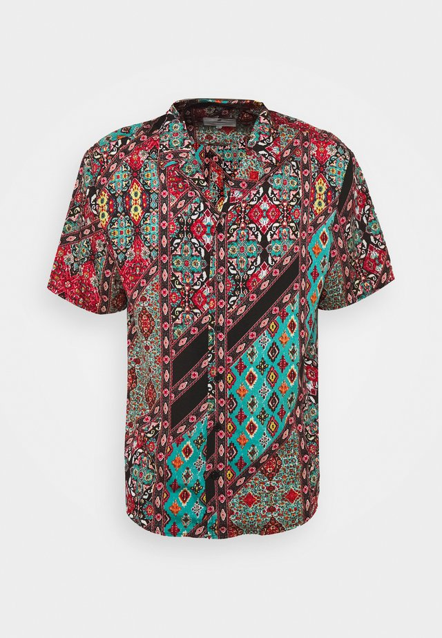 SHORT SLEEVE SHIRT WITH ALL OVER - Skjorta - multi