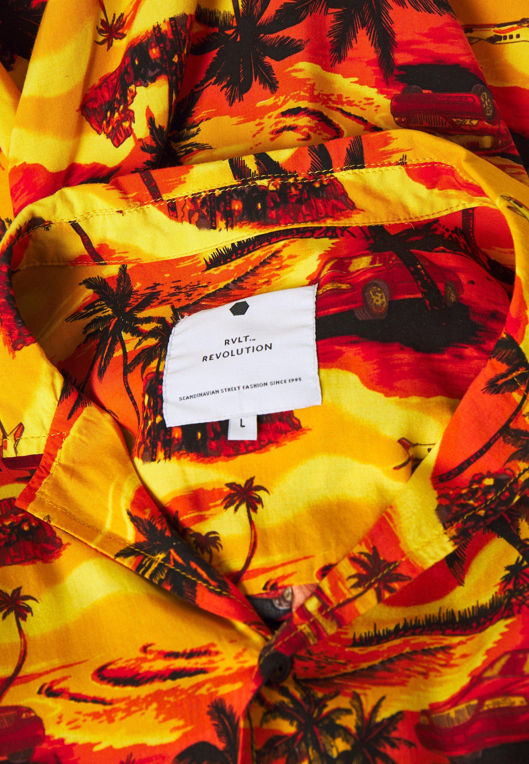 RVLT Skjorta - yellow - Herrkläder Rabatter