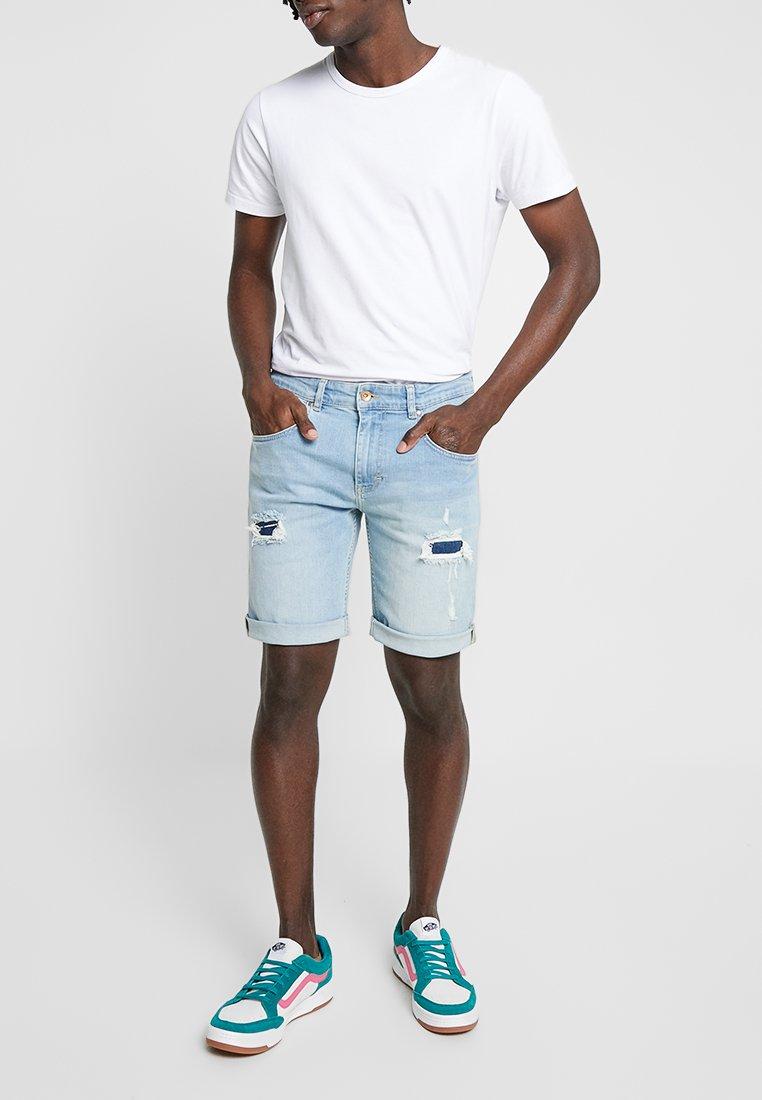 RVLT - Jeans Shorts - blue