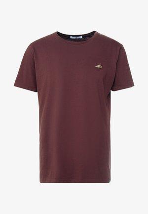 CAR - T-Shirt print - bordeaux