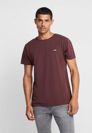 CAR - T-shirt z nadrukiem - bordeaux
