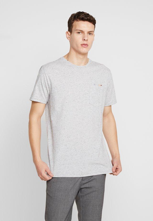 T-Shirt print - grey-mel