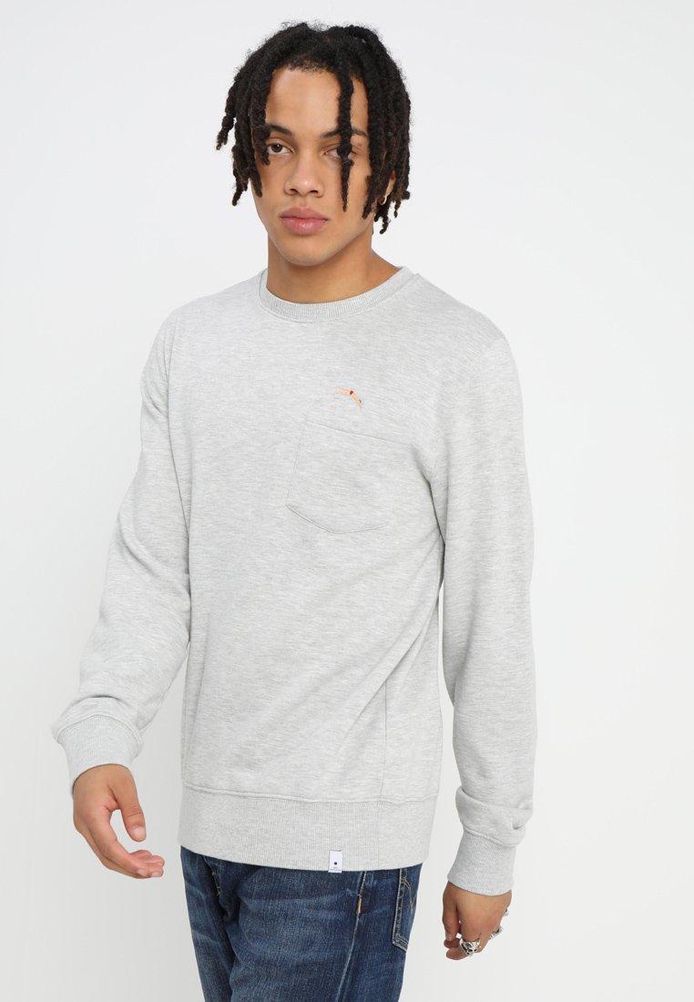 RVLT - Sweater - grey melange
