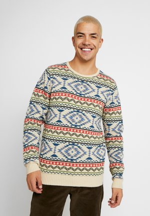BENT SWEATER - Jumper - offwhite