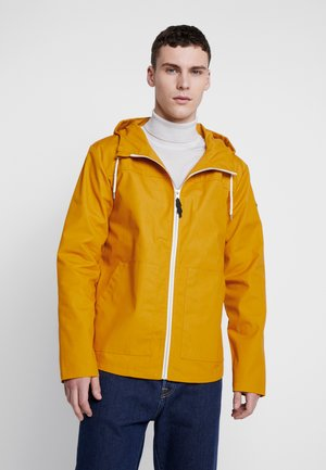 HOODED JACKET - Lehká bunda - yellow