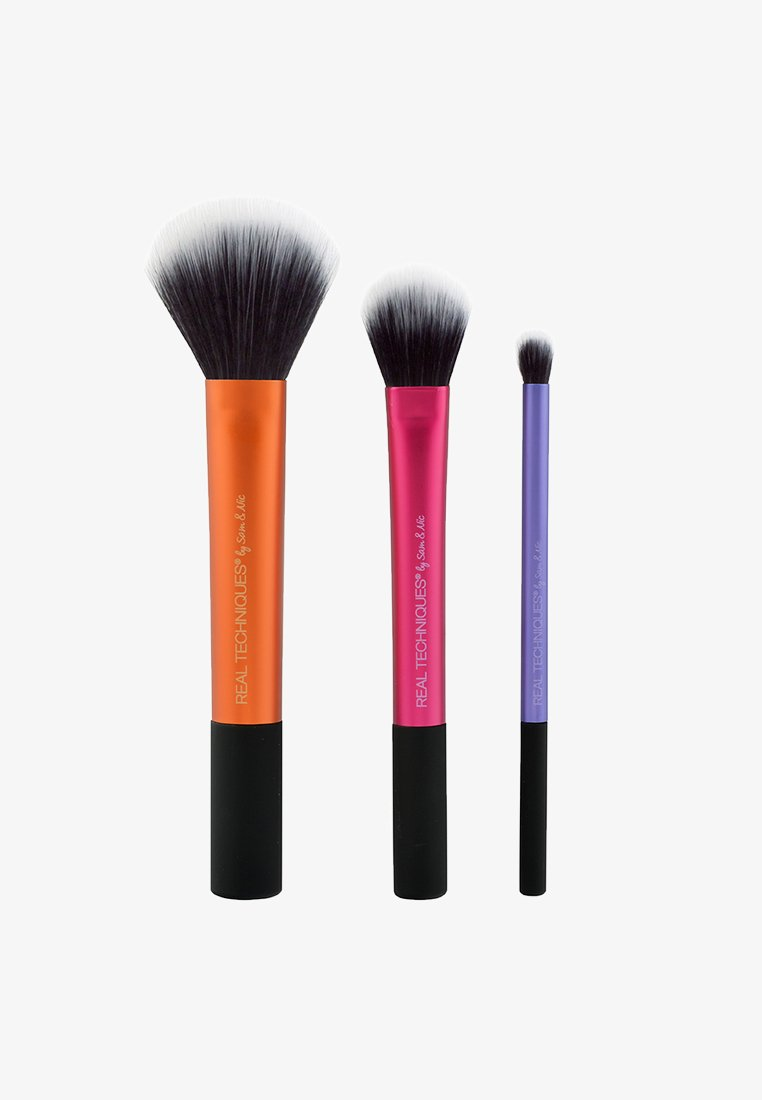 Real Techniques - DUO-FIBER COLLECTION SET - Pinceau maquillage - neutral