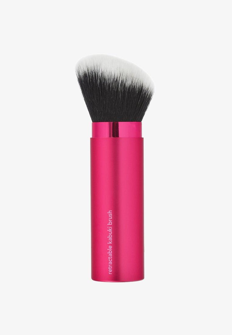 Real Techniques - RETRACTABLE KABUKI BRUSH - FINISH - Makeup brush - neutral