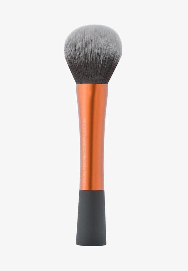 POWDER BRUSH  - Puderborste - orange/black