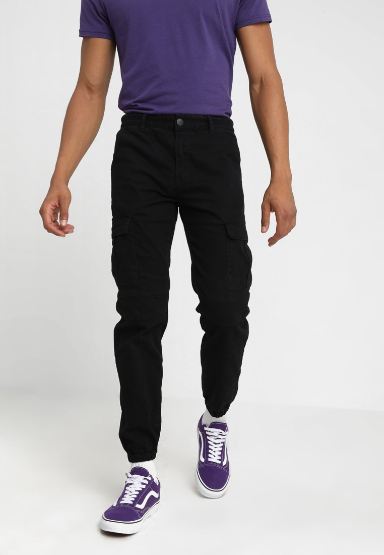 Refuse Resist - CODES JOGGER PANTS - Pantalon cargo - black
