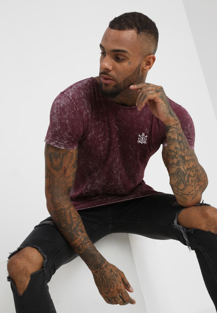 Refuse Resist - ICON WIDE NECK TEE - Print T-shirt - red