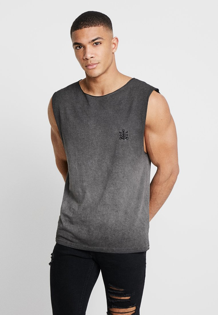Refuse Resist - TRUTH SLEEVELESS TEE - Top - washed black/white