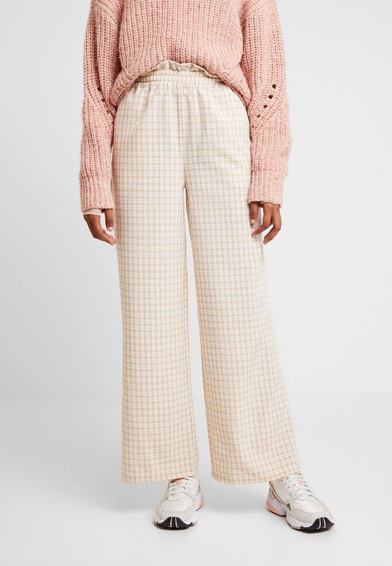 Résumé - OLLY PANT - Pantaloni - beige