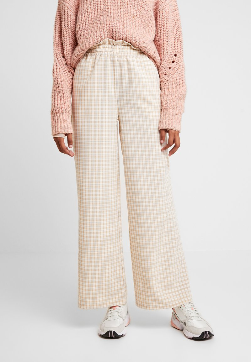 Résumé - OLLY PANT - Pantalon classique - beige