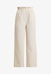 Résumé - OLLY PANT - Pantaloni - beige - 3