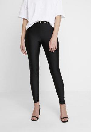 RÉSUMÉ - Leggings - Trousers - black