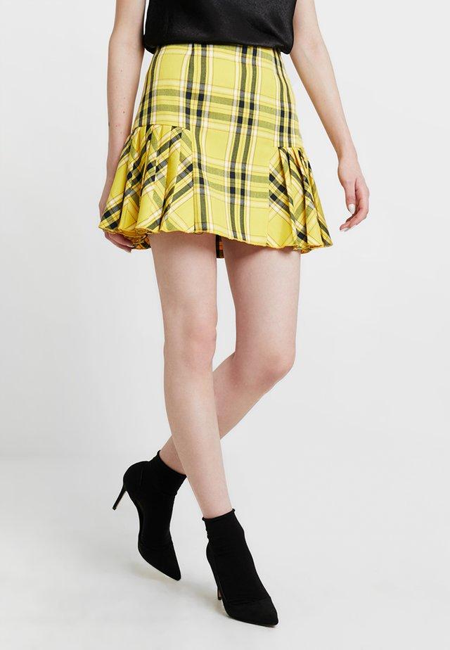 MONA SKIRT - A-linjekjol - sunflower