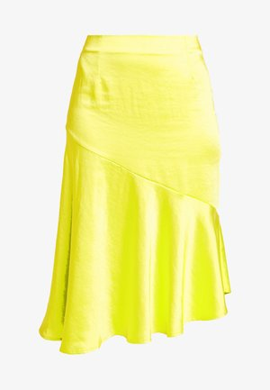PUK SKIRT - A-line skirt - neon yellow