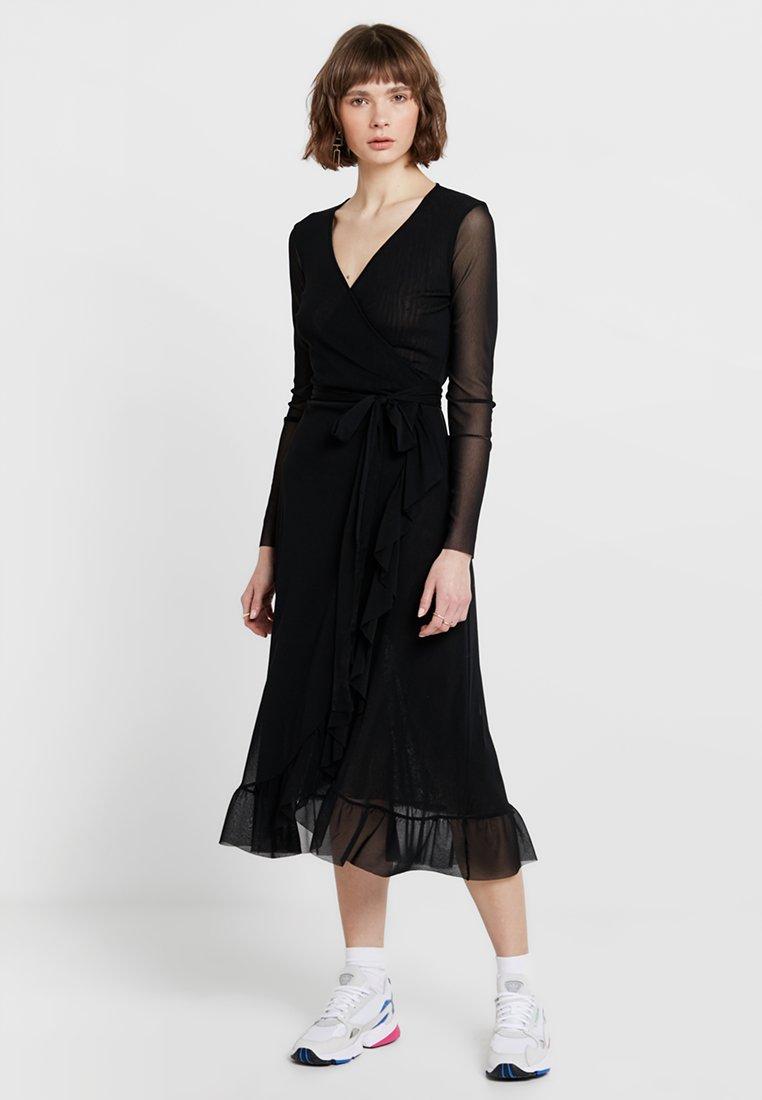 Résumé - LUCIANA DRESS - Maxikleid - black