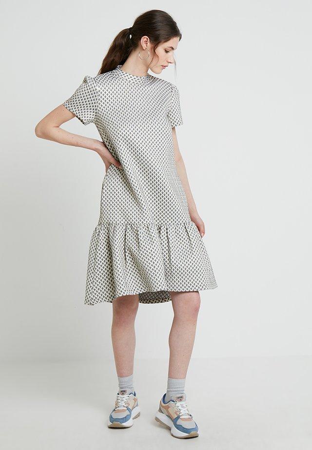 MANON DRESS - Day dress - silver