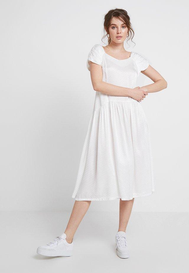 MAE DRESS - Maxi dress - white