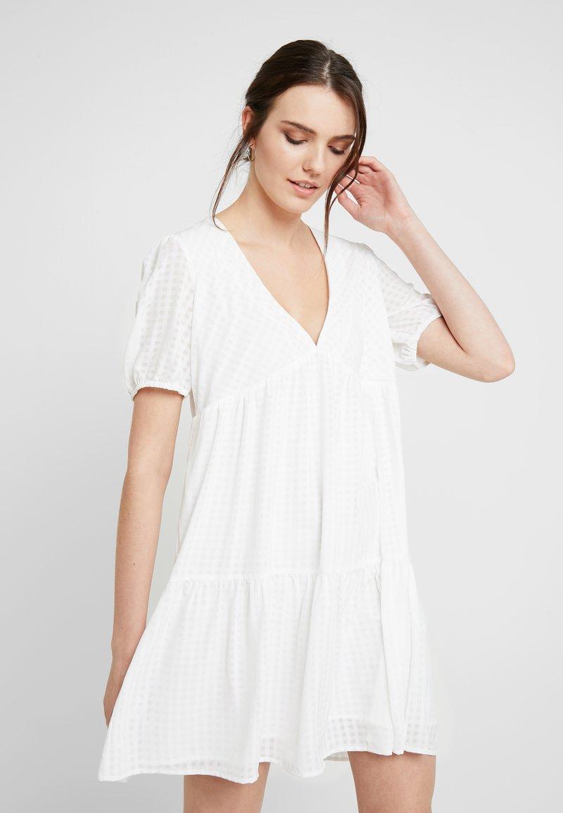 Résumé - NIA DRESS - Blusenkleid - white