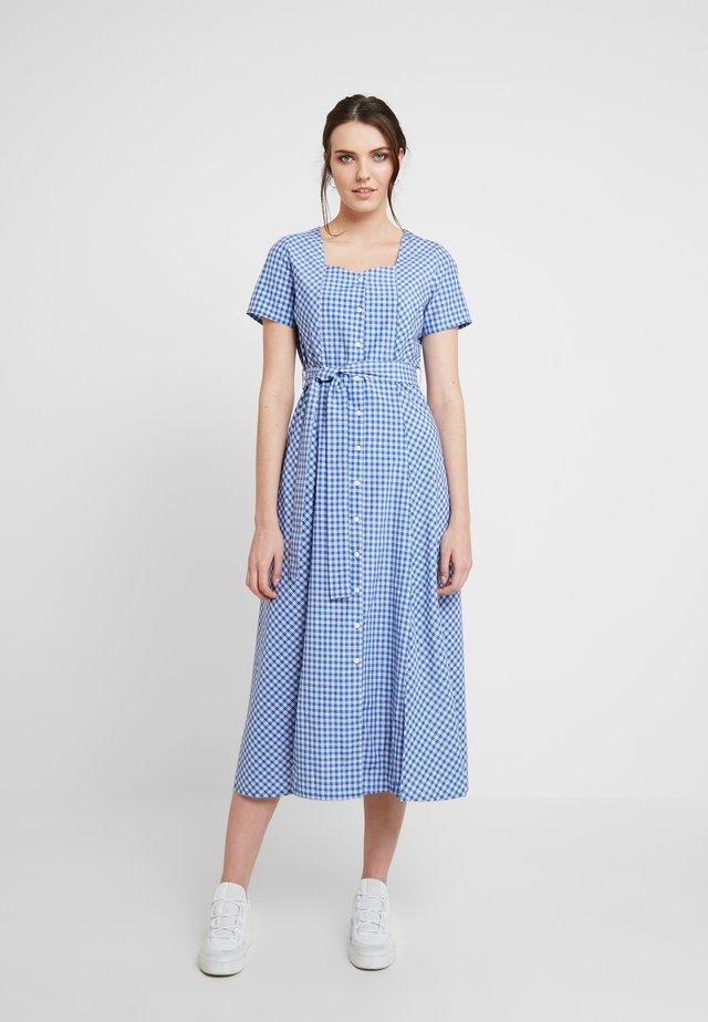 NOMA DRESS - Abito a camicia - ocean blue