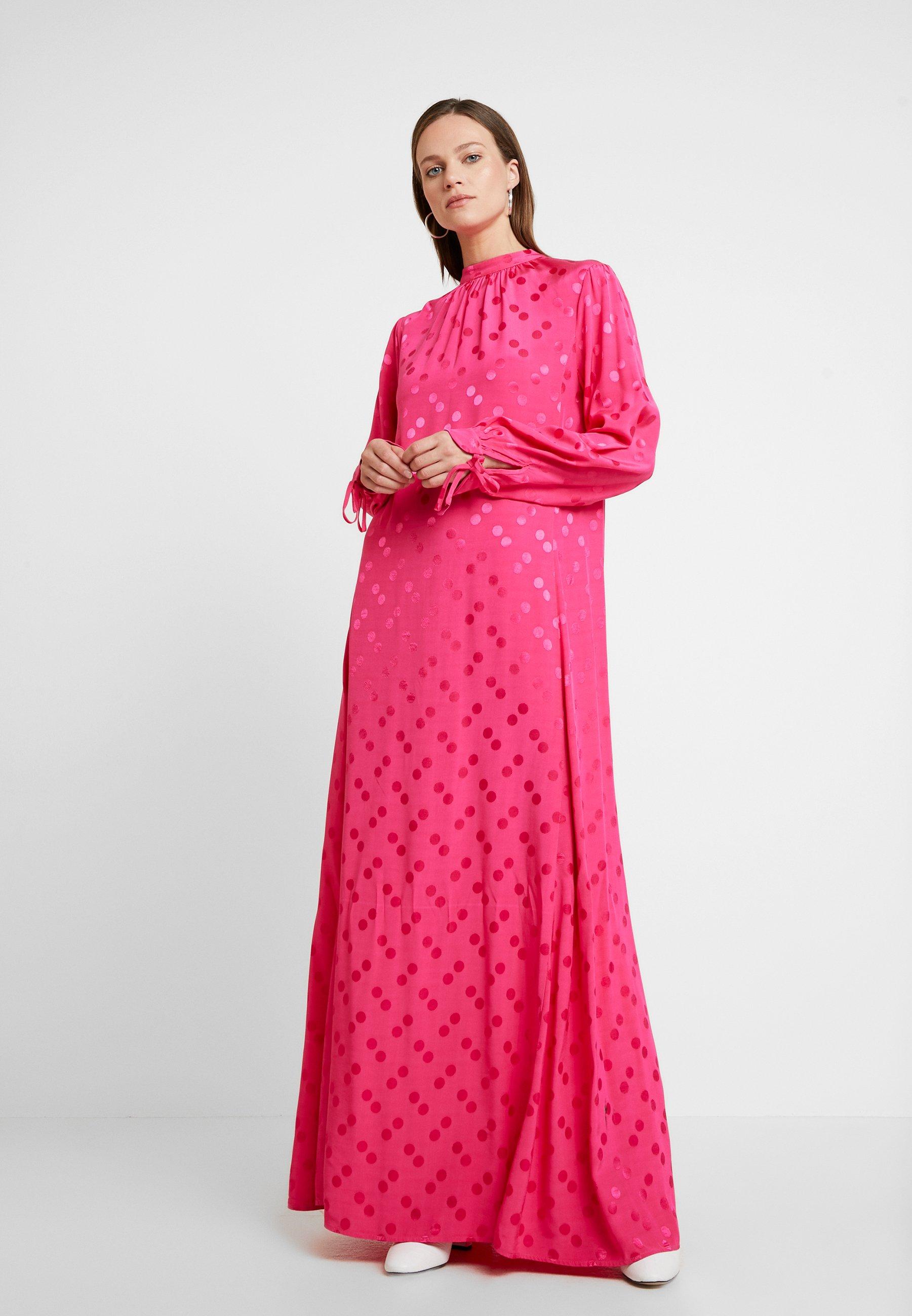 Cosmo Résumé LungoFuxia Pink Résumé Vestito Vestito 29IEDWH