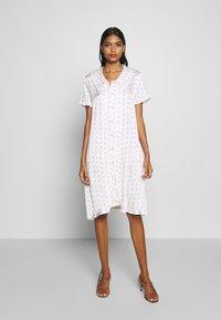 Résumé - TEDDY DRESS - Day dress - white - 0
