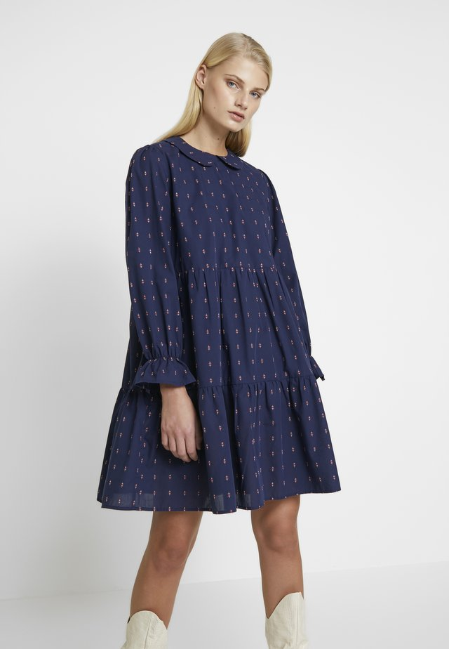 SIF DRESS - Korte jurk - navy