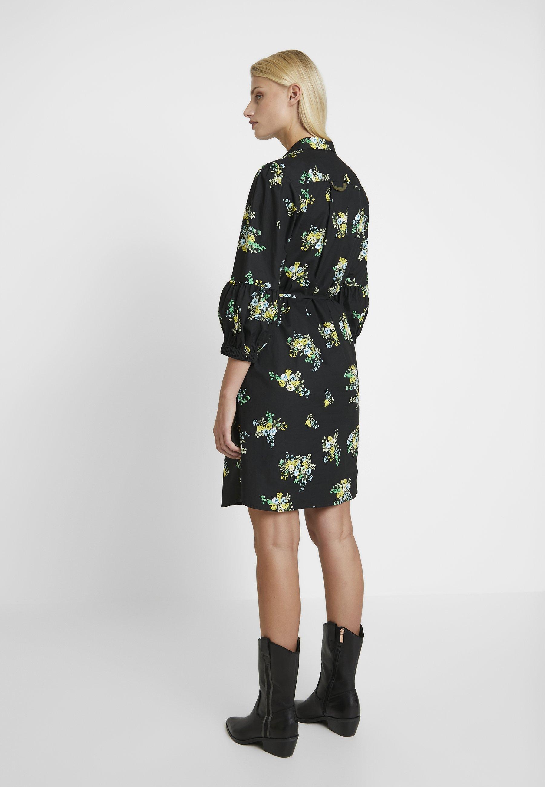 Résumé Sienna Dress - Skjortklänning Black