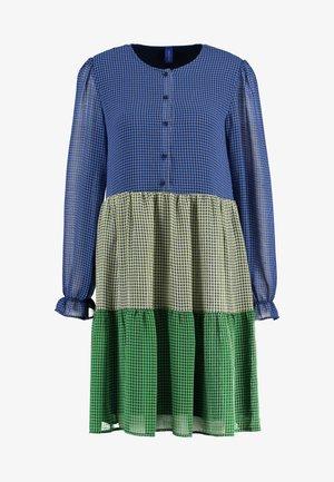 SOPHIA DRESS - Košilové šaty - blue