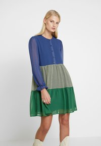 Résumé - SOPHIA DRESS - Skjortekjole - blue - 0