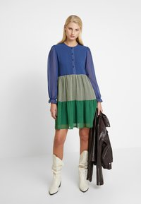 Résumé - SOPHIA DRESS - Skjortekjole - blue - 1