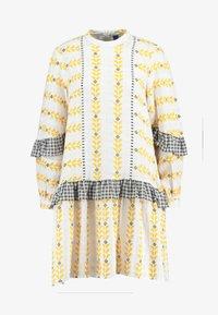 Résumé - SANDRA DRESS - Korte jurk - white - 3